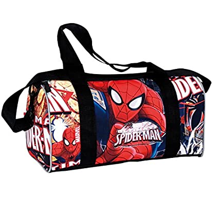 Spiderman – Bolsa de deporte, color rojo y azul (Montichelvo 29979)