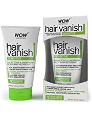 Wow Hair Vanish Sensitive No Parabens and Mineral Oil 100ml