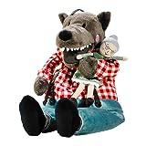 IKEA LUFSIG Stoffspielzeug Wolf