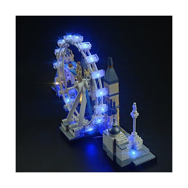 LIGHTAILING Set di Luci per (Architecture Londra) Modello da Costruire - Kit Luce LED Compatibile con Lego 21034 (Non… 5 spesavip