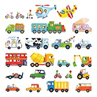 Decowall The Transports Kids Wall Stickers Wall Decals (1405 8015 1604)
