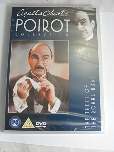 Agatha Christie Poirot Collection The Theft of The Royal Ruby DVD Royal Ruby
