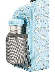 Laken Botella de Acero Inoxidable con Tapón de Rosca y Boca Ancha 0,35L Azul