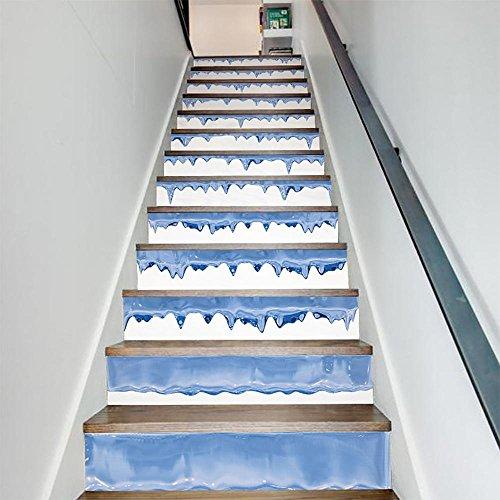 caracteristicas:Tamaño: Recomendar tamaño: * 13PCS / 39.4x7.1 * 13PCS, viene en la disposición, acabado en la pared o tamaño de las escaleras todos dependen de su preferencia;Cantidad del paquete: 1 sistema (13PCS / Set), si la necesidad más, usted p...