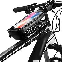 Fansport Bike Bag Fashion Top Tube Tube Bolsa De Almacenamiento De Bicicletas para Deportes Al Aire Libre