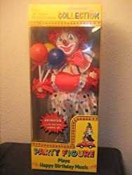 Telco Motion-ettes Collection Party Figure Battery Operated Clown
