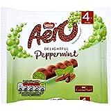 Aero Mint Chocolate Bar, 4 x 27g