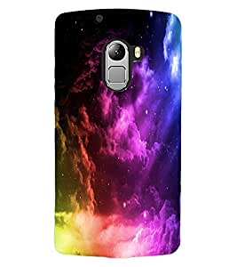 ColourCraft Beautiful Sky Look Design Back Case Cover for LENOVO VIBE X3 LITE
