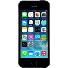 "Apple iPhone 5S 32 GB - Smartphone libre iOS (pantalla 4"", cámara 8 Mp, 32 GB, Dual-Core 1.3 GHz, 1 GB RAM), gris [importado]"