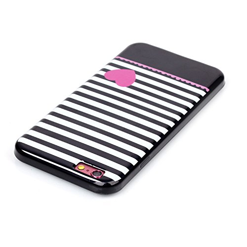 "MOONCASE Etui pour Apple iPhone 6 / 6S (4.7"") Silicone Gel TPU Housse Coque Case Cover XS06 XS10 #0302"