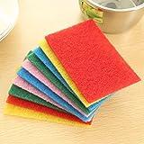 Anwaz Scheuer Schwamm Waschen die Gerichte Reiniger Multifarbe 10 Stücke
