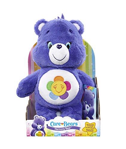Care Bears - Orsetto del cuore di peluche, armonioso, con DVD [Lingua inglese]