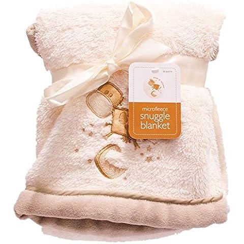 Mucca e luna nuova–Coperta per neonati Mucca & Moon biancheria Wrap in micro pile, morbido Snuggle - Blanket Nursery Bedding