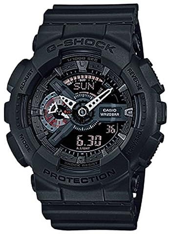 Casio G-Shock – Montre Homme Analogique/Digital avec Bracelet en Résine – GA-110MB-1AER