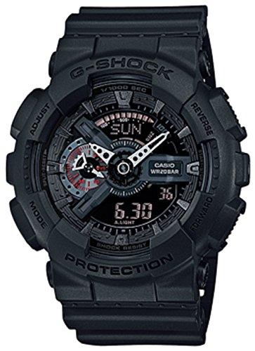 Casio orologio analogico-digitale quarzo uomo con cinturino in resina ga-110mb-1aer