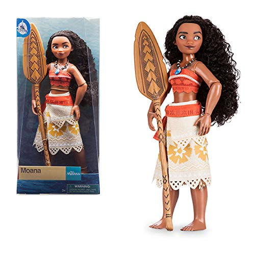 7d05901faf764 Official Disney Moana 28cm Classic Doll With Foldable Boat