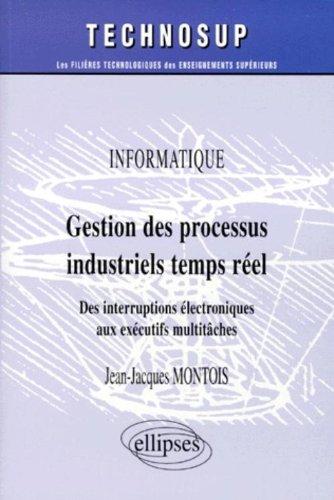 Gestion des processus industriels temps réel : Informatique