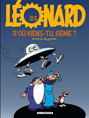 Léonard n° 25 D'où viens-tu, génie ?