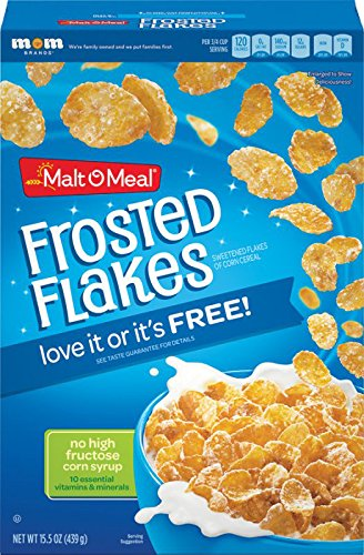 Malt O Meal Frosted Flakes, 439g