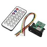 Ils - DC 5V 12V 3W + 3W Dual Channel MP3 Decoder Board Decodierung Modul Unterstützung MP3 WAV U Festplatte TF Karte USB