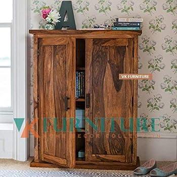 Vk Furniture Sheesham Wood Sideboard Cabinets For Living Room