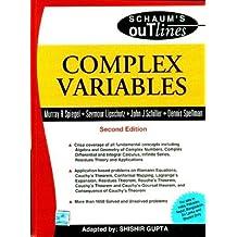 Complex Variable: Schaum's Outlines Series
