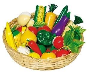 Goki WM592 - Accessori negozio, Frutta e Verdura
