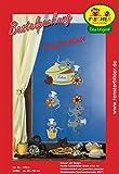 Fischer Fensterbild KNUSPER-MÄUSE / Bastelpackung / Größe: ca. 36x56 cm / Mobile / zum Selberbasteln / Basteln mit Papier und Pappe
