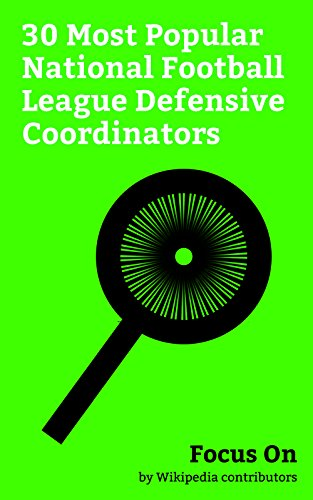 Jacksonville Jaguars Head (Focus On: 30 Most Popular National Football League Defensive Coordinators: Jack Del Rio, John Pagano, Todd Grantham, Dean Pees, Dave Adolph, Gary Gibbs, ... Mark Banker, etc. (English Edition))