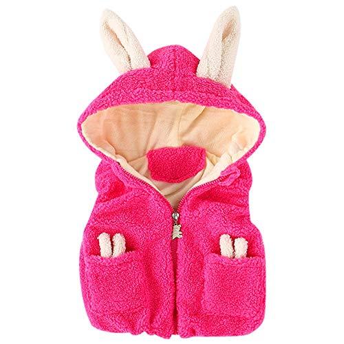 Kinder Mäntel Sunnydrain Kinderjacken Hoodie Patchwork Reine Farbe Fleece Winter Warm Herbst Kapuzen Outerwear Baumwolle Ärmellose