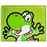 Super Mario World Yoshi Strukturierter Stil Grün Portemonnaie Geldbörse
