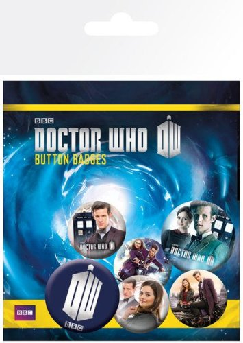 GB Eye Doctor Who Serie 7 Teil 2 Badge Pack Dr Who Anstecknadel