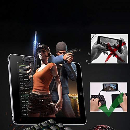 Ocamo Bluetooth PUBG Mobile L1 R1 RGB Mechanische Tastatur-Adapter Gamepad Controller Fire Aim Assist Tool für PUBG Spiel