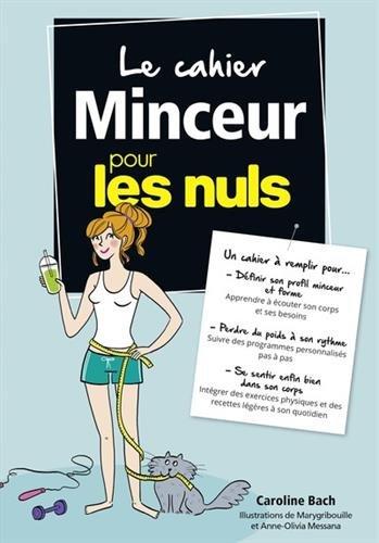 Cahier coach Mincir pour les Nuls