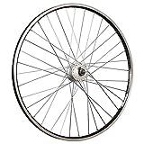 Taylor-Wheels 28 Zoll Vorderrad Ryde Zac19 Shimano DH-C3000 Nabendynamo Schwarz