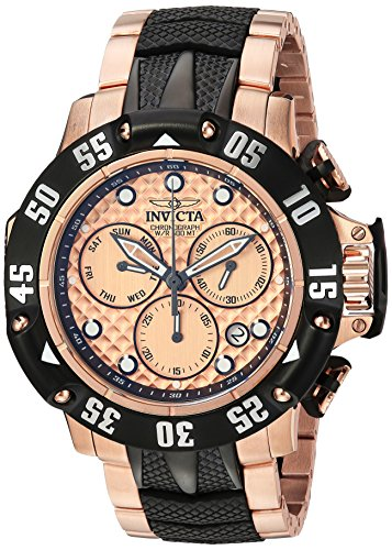 Invicta Men's Subaqua 23806 Gold Stainless-Steel Swiss Chronograph Diving Watch