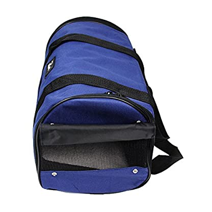 Nestling® Blue Oxford Cloth Pet Carrier Bag Dog Cat Bag Foldable Pet Travel Carrier Ideal for Puppy, Cat, Rabbit and… 4