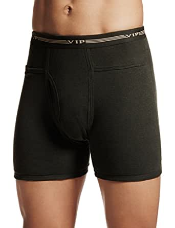 VIP Men's Cotton Trunks (Pick Pocket-Dark Green-95)