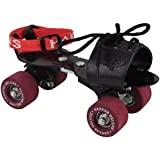 ADJUSTABLE ROLLER SKATES STEEL BODY WITH PVC BLENDED WHEELS FITTED WITH ROLLER BALL BEARINGS ELITE SKATE Multi COLORby S.A.S Sport
