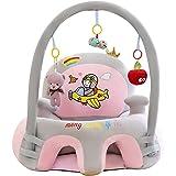 Support Coussin de Bébé, Bébé Canapé en Peluche Forme Animaux Mignon, Protection pour Bébé Apprendre à S'assoire Jouets pour
