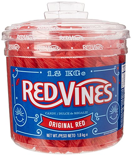 Red Vines Liquorice Tub 1.8 kg (Packaging May Vary)