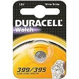 """DURACELL Lot de 2 Blisters de 1 Pile oxyde argent spéciale montres""""Watch"""" 399/395 SR57"""