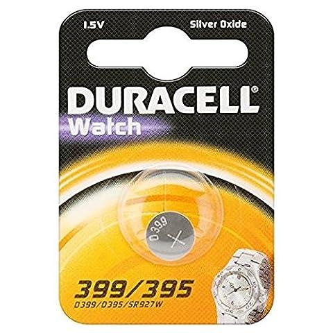 DURACELL Pile-bouton Duracell type/réf. 399 (1 unité sous blister), 1,55V,