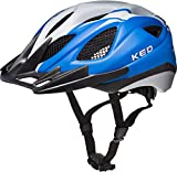 KED Tronus Helmet Blue Pearl Matt Kopfumfang L | 57-63cm 2018 Fahrradhelm