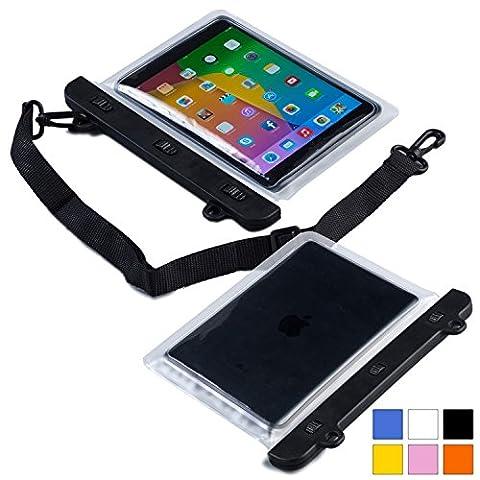 Universelle 7'' - 8'' Tablet Wasserdichte Hülle, COOPER VODA Wasserfeste tragbare Outdoor-Schutzhülle mit Kopfhörer & berührungsempfindlichem Bildschirm für 7'' - 8'' Tablet (Bewertung Wasser)