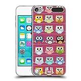 Head Case Designs Pink Muster Kawaii Eule Soft Gel Hülle für Apple iPod Touch 5G 5th Gen