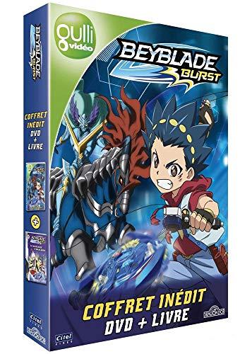 Preisvergleich Produktbild Coffret DVD + livre beyblade burst,  vol. 1 : en avant valtriek [FR Import]