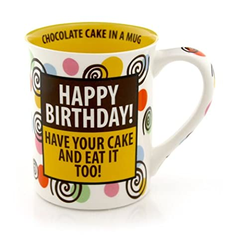 Our Name Is Mud Have Your Cake and Eat It Mug, Chocolate Cake in a Mug