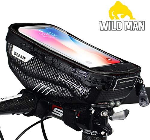 PROZADA Bolsa Bicicleta Impermeable Pantalla Táctil