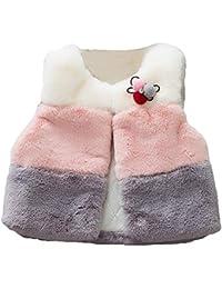 Chaquetas y Abrigos, ❤️ Zolimx Bebé Niños Niñas Invierno Chalecos Abrigos de Recién Nacido Chaleco Chaqueta Princesa Ropa Newborn Baby Girl Bautizo